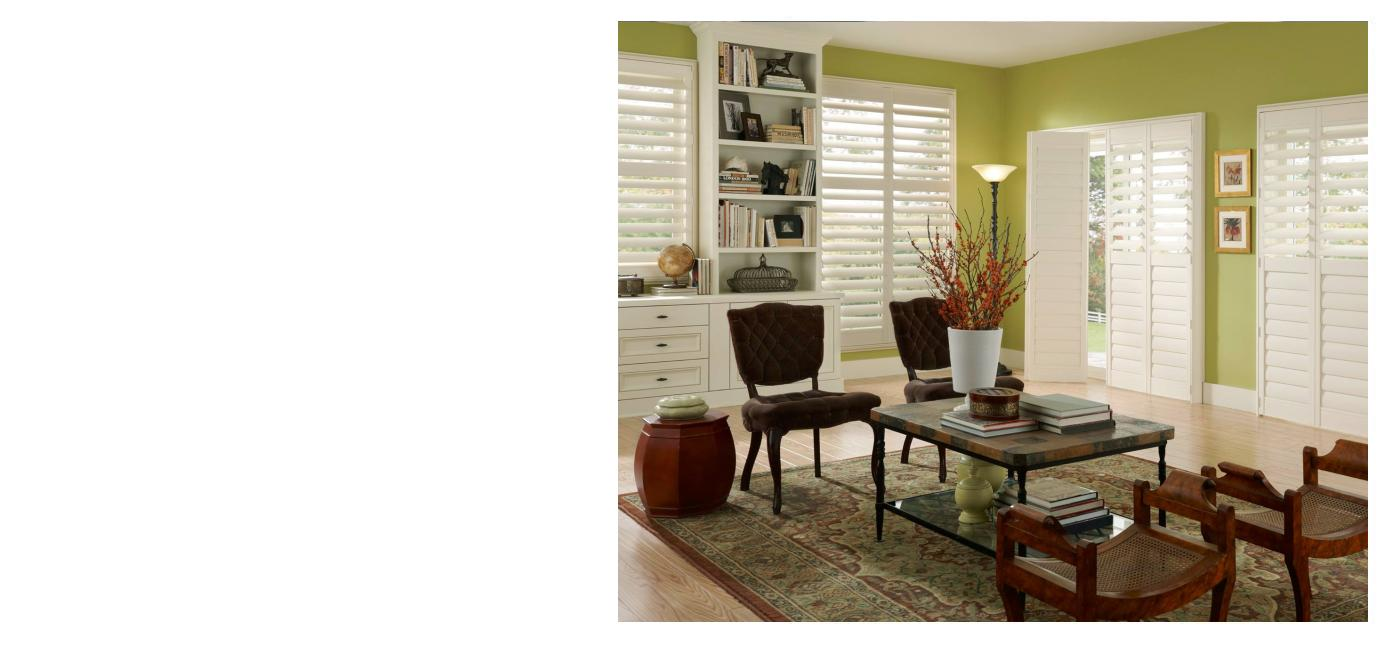 Match your style to your living spaces!